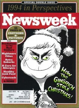 Newt Gingrinch, Newsweek cover (1994)