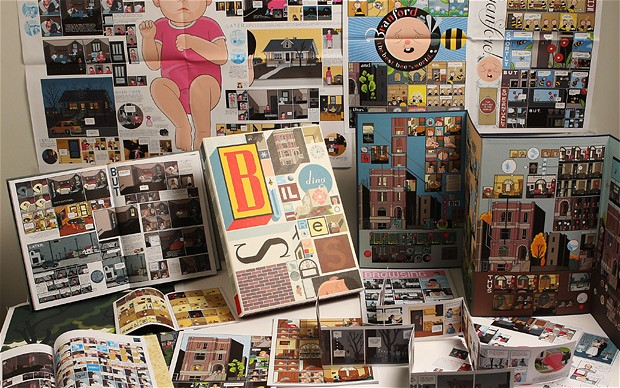 Chris Ware, Building Stories (unpacked)