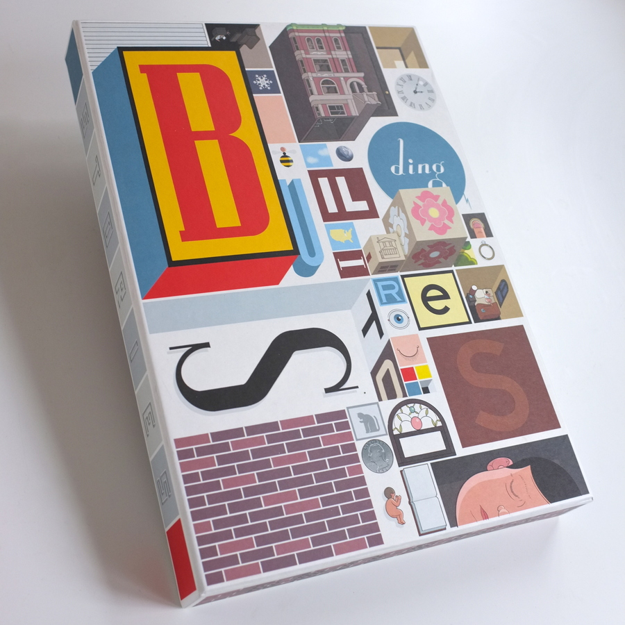 Chris Ware's Building Stories (2012). Photo by Alan Trotter.